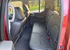 2020 Nissan Frontier backseat