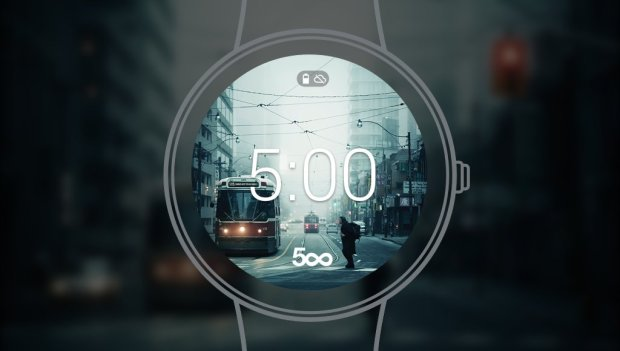 500px watch face
