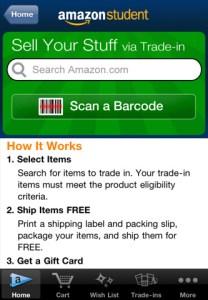 Amazon Student iPhone App