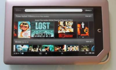 Amazon Video on Nook Tablet
