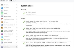 Apple - Support - iCloud - System Status