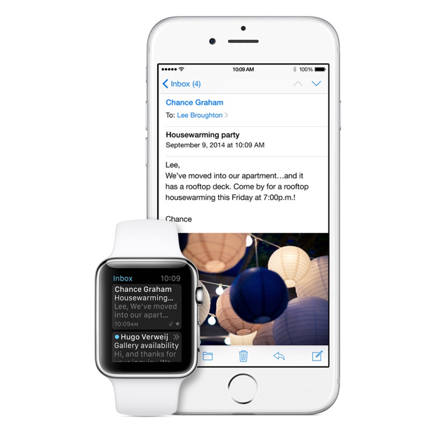 Check Your Email on the Apple Watch