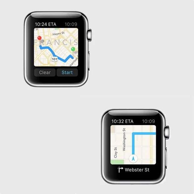 Get Directions on Your Apple Watch
