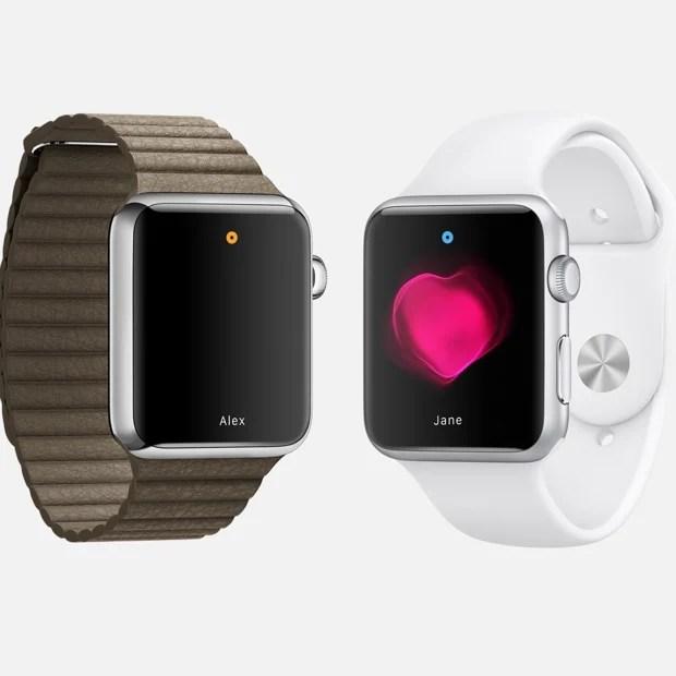 Apple Watch send Heartbeat