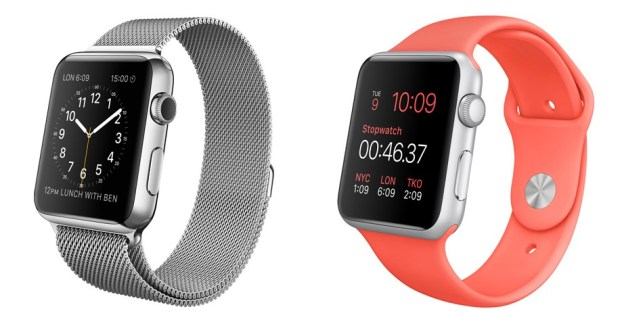 There are important design differences between the Apple Watch and Apple Watch Sport.