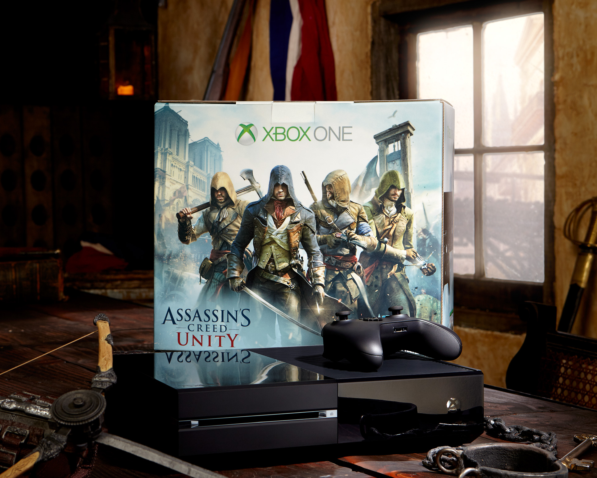 Assassin\'s Creed Unity Xbox One Bundle Confirmed