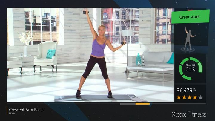 Kinect Fitness for Xbox One