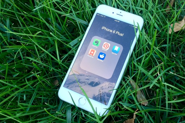 Evernote is one of the best iPhone 6 Plus apps you'll find.