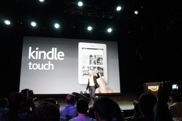 Amazon Kindel Touch Announcement