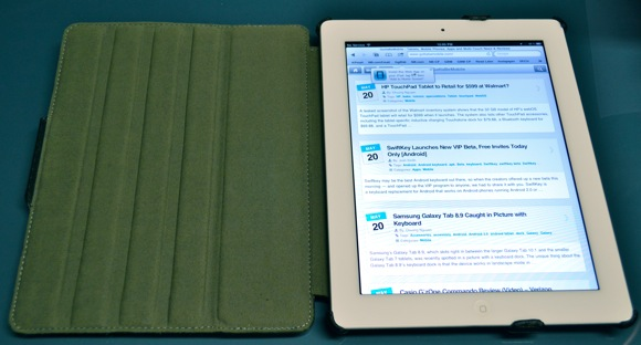 Scosche folio p2 case for iPad 2