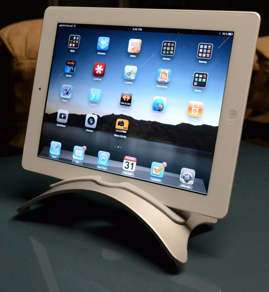 BookArc Stand iPad 2 Landscape Mode