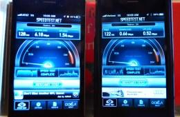 iPhone 4S Speedtest midwest