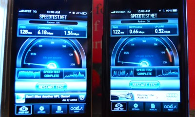 iPhone 4S Speedtest midwest