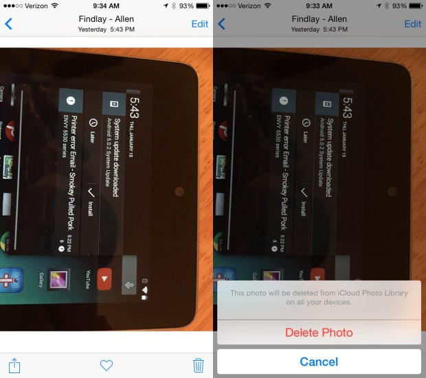 Use this guide to delete photos from the iPhone and iCloud at the same time.