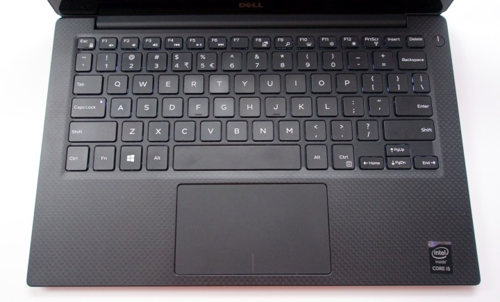 The XPS 13 2015 keyboard is excellent for a small, portable notebook.