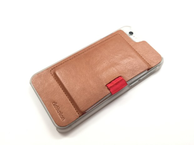 There is some wear to the iPhone 6 wallet case, but it adds to the look.