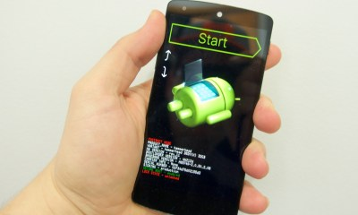 With the Nexus on this screen, you can now start the Android 5.0 downgrade.