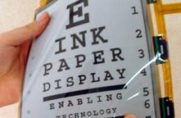 E-InkFlexibleDisplay