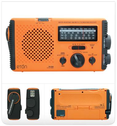 FR400 Hand Crank Radio and Generator