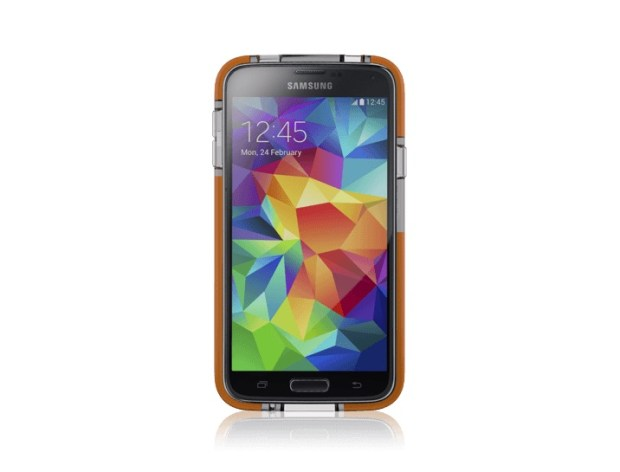 Add drop protection without bulk to your Galaxy S5.