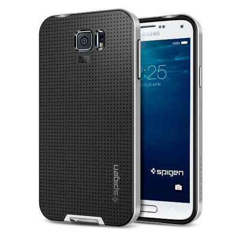 Spigen's upcoming Galaxy S6 case.