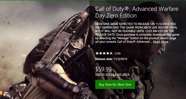 There are many GameStop Call of Duty: Advanced Warfare release problems.