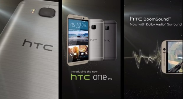 Leaks show off much of the HTC One M9 design.