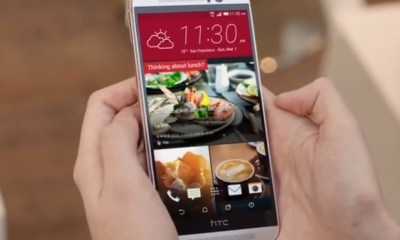 Rumors suggest a 5-inch 1080P HTC One M9 display.