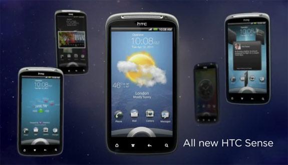 HTC Sense 3.0 lockscreen