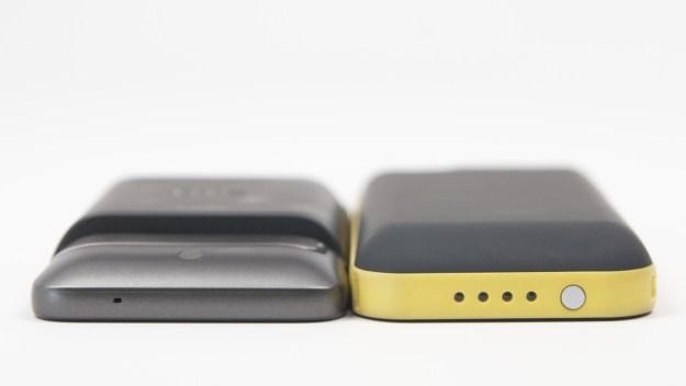 HTC Thunderbolt extended battery comparison