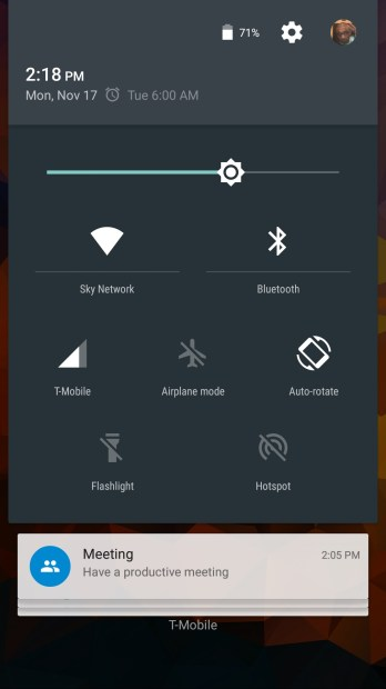 How to Switich Accounts on the Moto X 2014 With Android Lollipop (2)