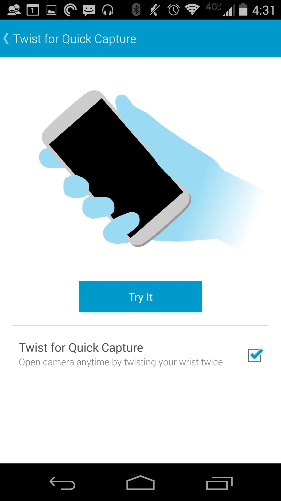 How to Turn Off Twist to Camera on the Moto X 2014