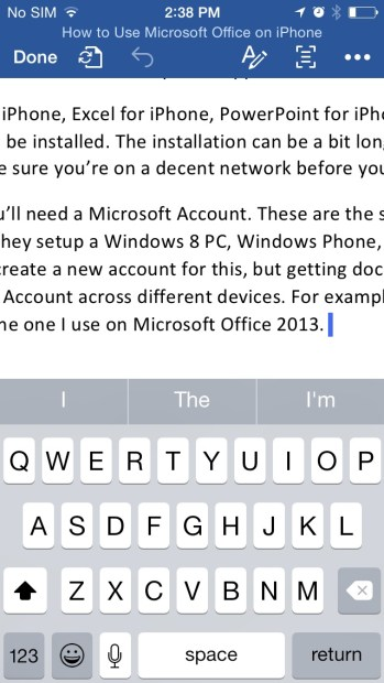 How to Use Microsoft Office on iPhone (16)