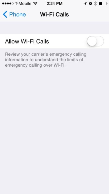 How to Use T-Mobile Wi-Fi Calling On The iPhone (6)