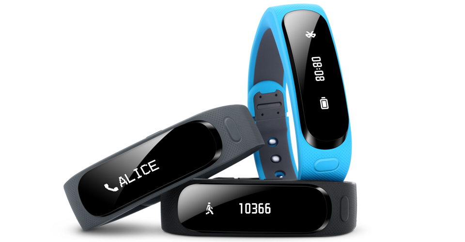 Huawei Talkband B1 display