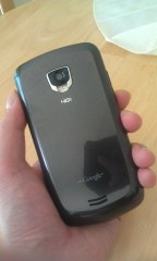 Droid Charge rear; as taken with HTC Thunderbolt's camera
