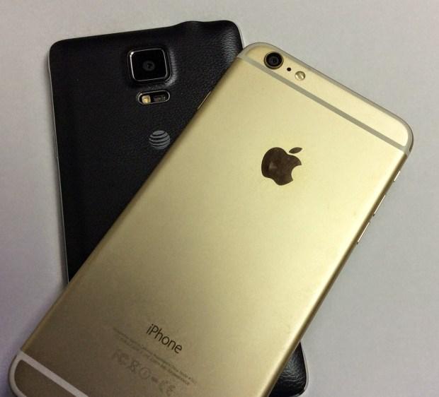 Samsung Galaxy Note 4 vs iPhone 6 Plus Camera Comparison