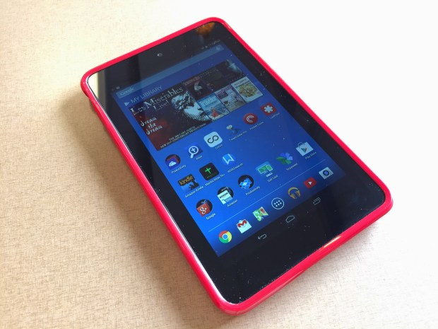 dell venue 7 with case front