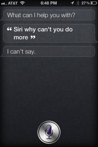 Siri Limitations
