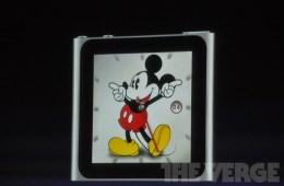 Ipod nano watch mickey mouse
