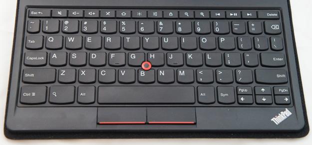 Keyboard - ThinkPad Tablet Keyboard Folio Case