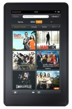 Kindle Fire comparison