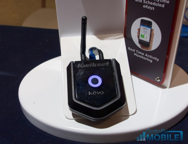 This adapter connects the Kevo to the Internet.