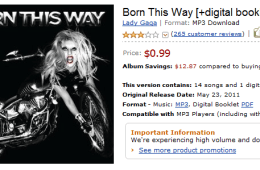 Lady Gaga Amazon Cloud Music