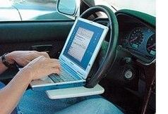 Laptop Steering Wheel