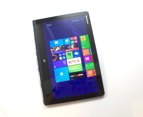 Yoga 3 Pro as a tablet.