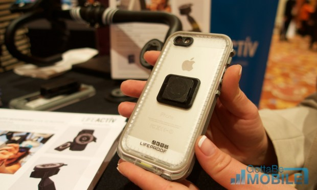 The LifeProof LifeActiv system includes a series of smart mounts for iPhone and Android.