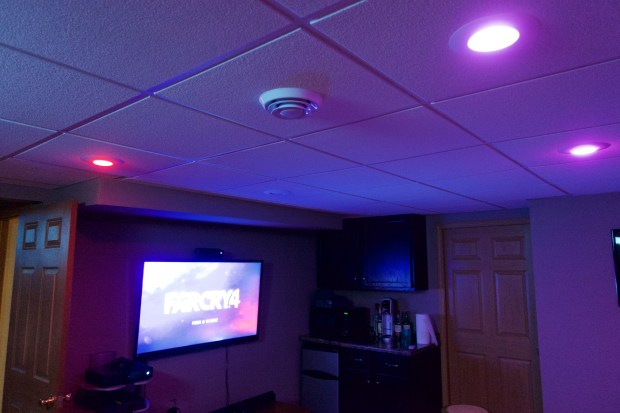 With one tap my media room is ready for gaming thanks to the Harmony Ultimate Home system.