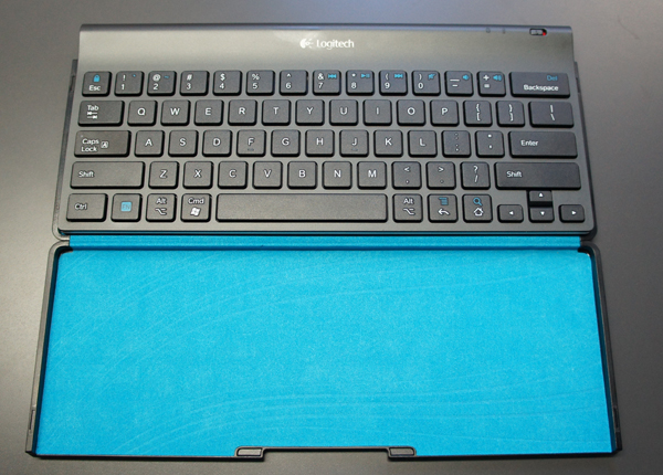 Logitech Tablet Keyboard and case stand