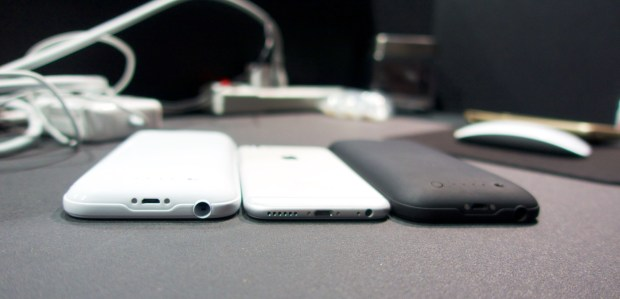 You can sync with the Mophie iPhone 6 case on, something that wasn't possible on older versions.